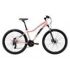 """Велосипед WELT Edelweiss 1.0 HD 27"""" (2020) 15 / матовый-зеленый-синий 15 ростовка"""