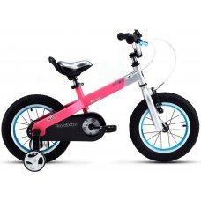 """Велосипед ROYALBABY Buttons Alloy 14"""" (2020)(розовый)"""
