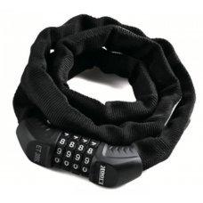Трос-замок ETOOK ET355 900 мм кодовый, цвет черный, длина 900 мм, вес в упаковке 300 гр.