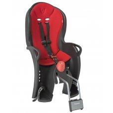 Детское велокресло HAMAX Sleepy(черно-красный)