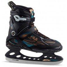 Коньки прогулочные FILA Primo Ice black/blue/bronze S17 SR взрослые(40,5)