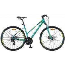 Велосипед STELS Cross 130 MD Lady V010 (2019) 15,5 / зеленый 15,5 ростовка