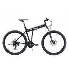 Велосипед STARK Cobra 27.2 D (2019) 18 / черный-белый 18 ростовка
