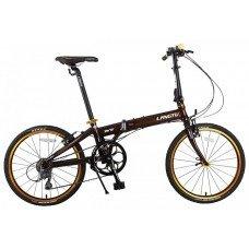 """Велосипед LANGTU K8 20"""" 8s (2019)(коричневый-зеленый)"""