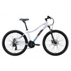 """Велосипед WELT Edelweiss 1.0 D 26"""" (2020) 16 / белый-фиолетовый 16 ростовка"""