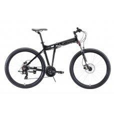 Велосипед STARK Cobra 27.2 HD (2020) 18 / черно-белый 18 ростовка