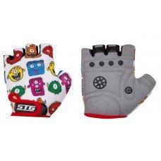 Велосипедные детские перчатки STG AL-05-1569 защищают ладони ребенка от мозолей и повреждений при катании на самокате или велосипеде. Перчатки быстросъемные из кожи и лайкры с защитной прокладкой. Для дополнительной фиксации на запястье предусмотрена заст