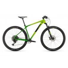 Велосипед CUBE Reaction Race 29 (2020) 17 / зелено-черный 17 ростовка