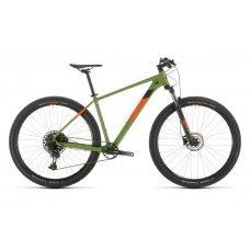 Велосипед CUBE Analog 27.5 (2020) 18 / черно-желтый 18 ростовка