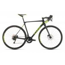 Велосипед CUBE Cross Race C:62 Pro (2020) 56 / карбоново-зеленый 56 ростовка