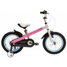 """Велосипед ROYALBABY Buttons Alloy 18"""" (2020)(розовый)"""