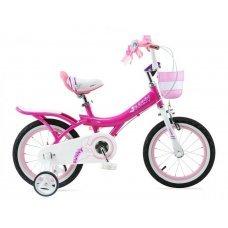 "Велосипед ROYALBABY Bunny Girl 16"" (2020)(розовый)"