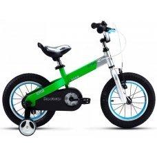 """Велосипед ROYALBABY Buttons Alloy 12"""" (2020)(зеленый)"""