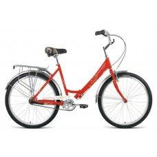 Forward Sevilla — комфортный и компактный велосипед. Складная конструкция рамы велосипеда позволяет перевозить велосипед в багажнике машины, общественном транспорте, лифте. Планетарная втулка обеспечивает максимальный комфорт от езды на велосипеде со скор