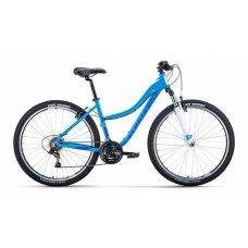 Forward Jade — горный женский велосипед для быстрых экстремальных поездок. С ним можно без труда забраться на горку, чтобы понаблюдать за заходом солнца.