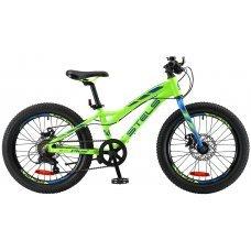 Велосипед STELS Adrenalin MD 20 V010 (2019) 11 / неоновый-лайм 11 ростовка