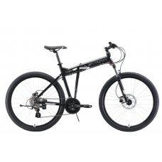 Велосипед STARK Cobra 27.3 HD (2019) 18 / черный-белый 18 ростовка