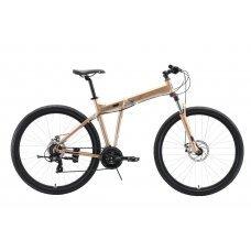 Велосипед STARK Cobra 29.2 D (2020) 18 / бронзово-черный 18 ростовка