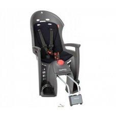 Детское велокресло HAMAX Siesta предназначено для детей в возрасте старше 9 месяцев и весом до 22 кг. Отличительные особенностиHamax Siesta : функция регулировки угла наклона для комфортного отдыха и сна ребенка и замок фиксации кресла на велосипеде. Спал