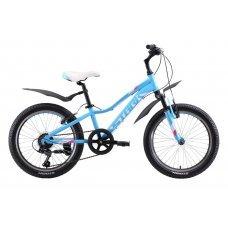 Велосипед STARK Bliss 20.1 V (2020)(голубо-розово-белый)