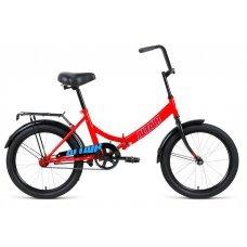 """Велосипед ALTAIR City 20"""" (2020)(красный-голубой)"""
