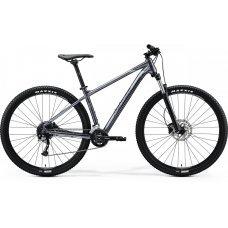 Велосипед MERIDA Big Nine 200 (2020) 17 / глянцево-антрацитово-черно-серебристый 17 ростовка