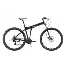 Велосипед STARK Cobra 29.2 HD (2020) 18 / черно-голубой 18 ростовка