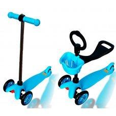 Самокат EXPLORE Saddler(голубой)