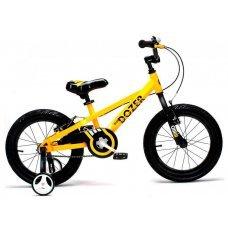 "Велосипед ROYALBABY Bull Dozer 16"" (2018)(желтый)"