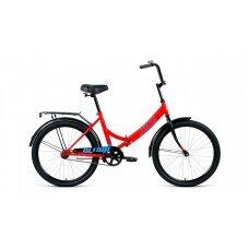 """Велосипед ALTAIR City 24"""" (2020)(красный-голубой)"""