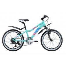 """Велосипед WELT Edelweiss 20"""" (2020)(матово-мятно-зелено-синий)"""