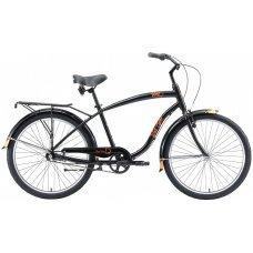 Велосипед WELT King AL 3 (2020)(черный)