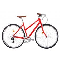 Велосипед BEAR BIKE Amsterdam (2019) 48 / красный 48 ростовка