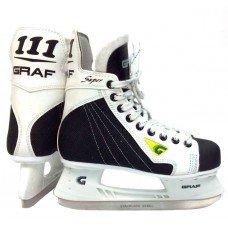 Коньки хоккейные GRAF 111 New Sakurai YTH детские(27)