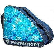 Сумка для коньков детская ULTRASPORT сердца голубые-синие(YTH)